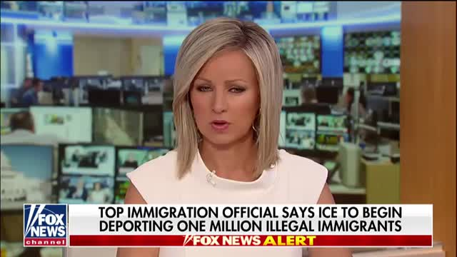 Top immigration official says ICE will begin deporting 1 million illegal immigrants with final removal orders
