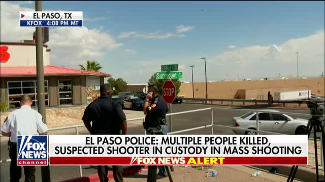 Texas Attorney General Ken Paxton says El Paso gunman is believed to be from Dallas area