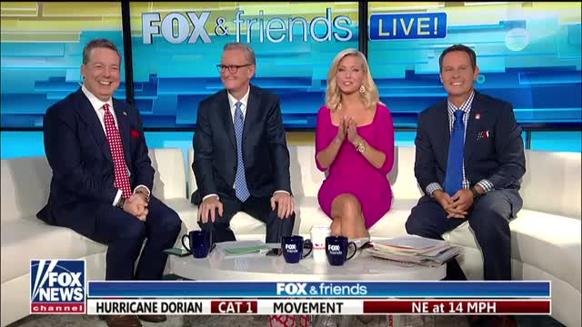 Ed Henry returns to Fox & Friends after donating part of liver to sister
