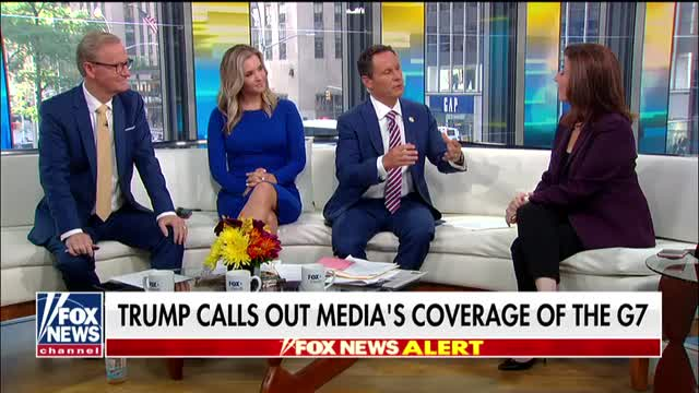 Tammy Bruce on coverage of Trump at G-7 summit: The medias lies are harming the country