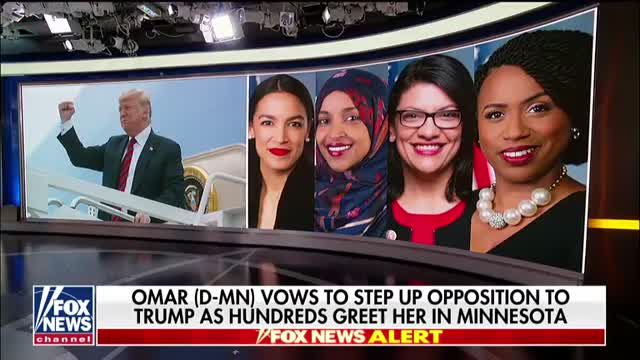 Rep. Ilhan Omar vows to be a nightmare to President Trump