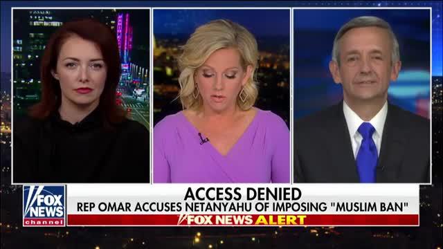 Rep. Omar accuses Benjamin Netanyahu of imposing Muslim ban