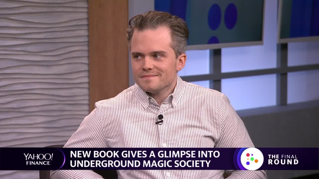 New book offers glimpse into the secret world of a magic society