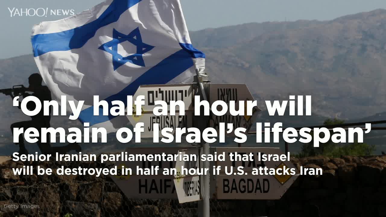 Israel will be destroyed in half an hour if America attacks Iran: senior Iranian MP