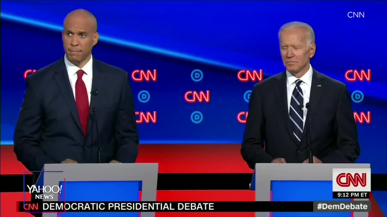 Booker responds to Biden: Youre dipping into the Kool-Aid and you dont even know the flavor