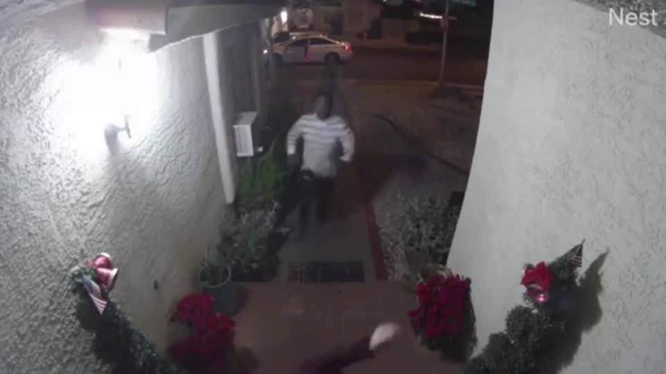 Man arrested in Las Vegas kidnapping caught on surveillance video