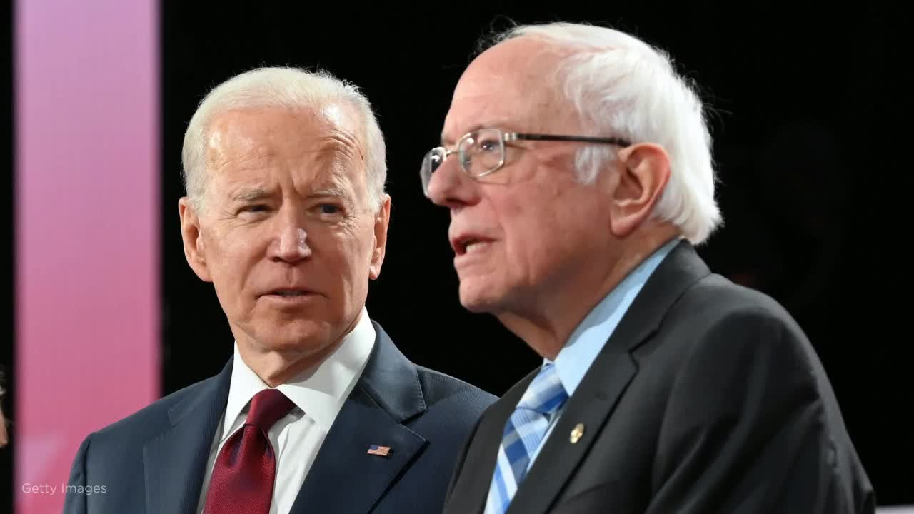 Biden wont commit to backing Sanders if hes the Democratic presidential nominee