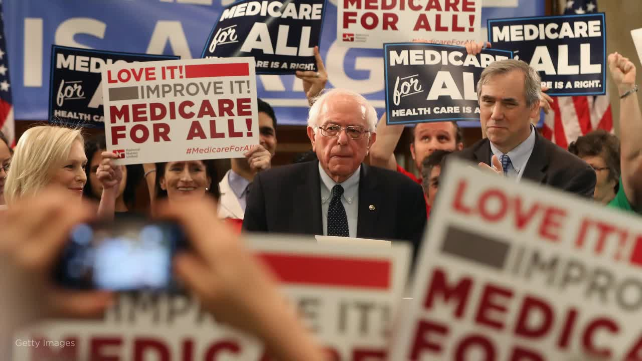 Sanders is starting to get pressured on how he would finance Medicare for All