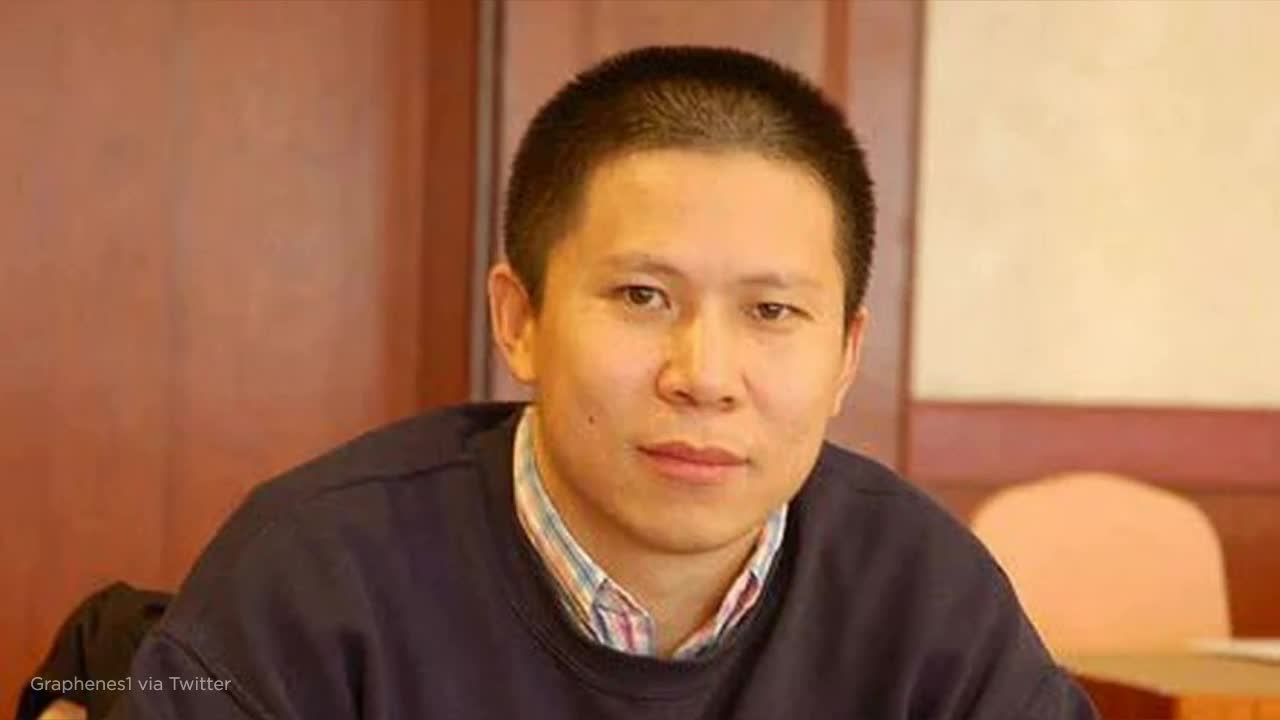 Chinese authorities arrest a prominent rights activist who called on President Xi Jinping to step down
