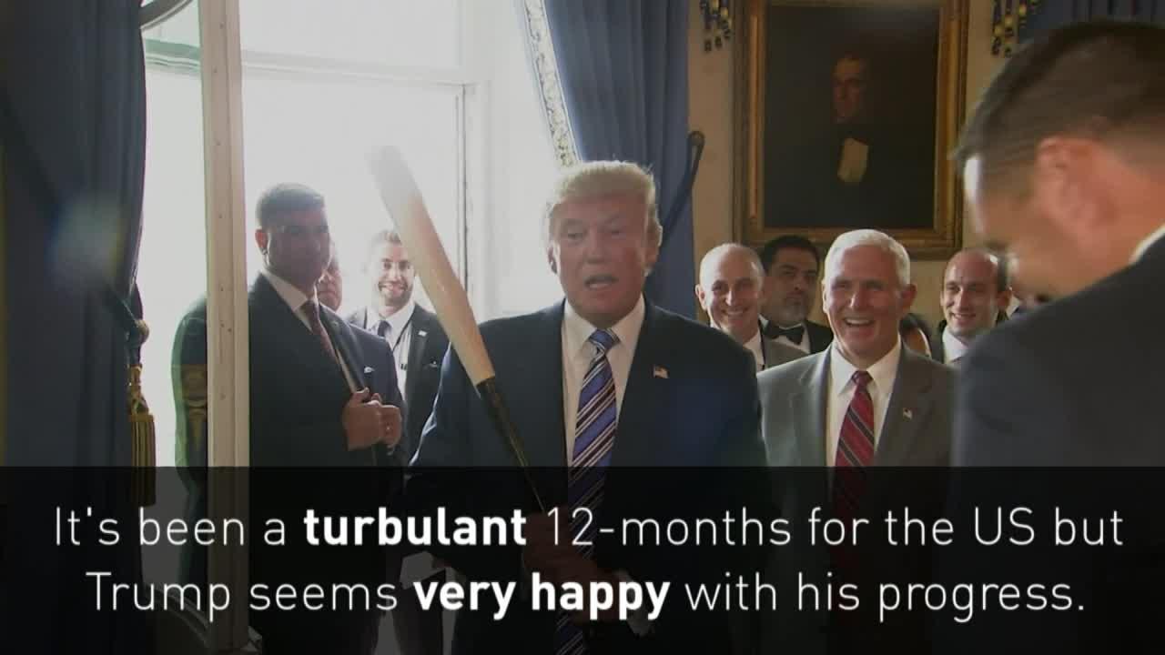 Trump presidency: A year in review