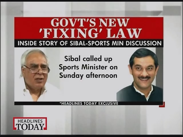 Government plans to bring new bill to fight betting in sports