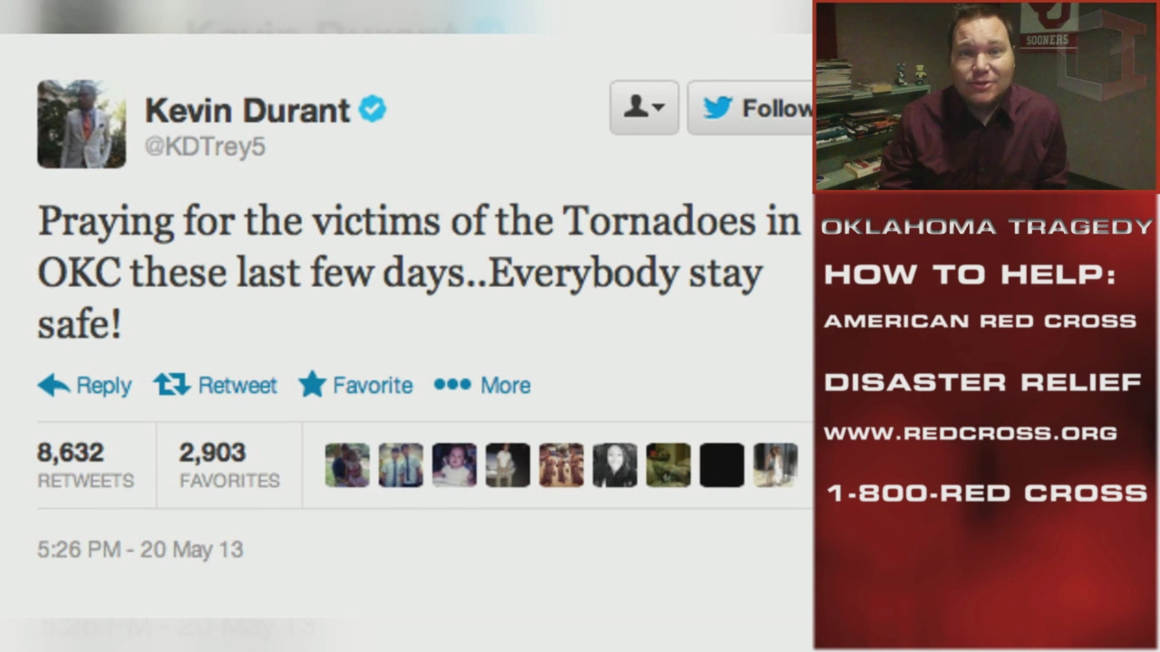 How Athletes Are Helping Out In Oklahoma