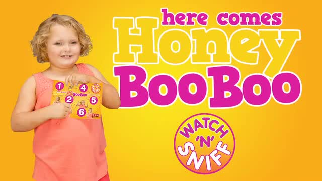 Honey Boo Boo presents her Watch 'N' Sniff premiere extravaganza on TLC. (US Weekly)