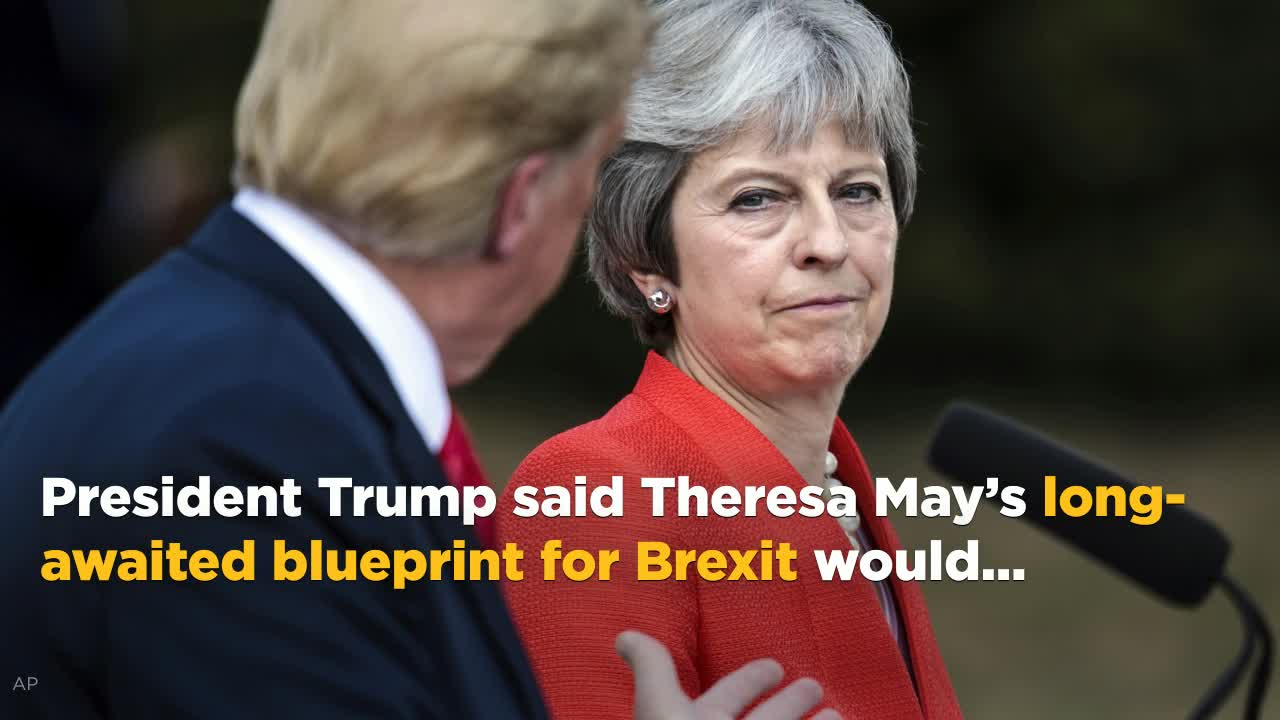 Even theresa mays opponents are taken aback by trumps brexit even theresa mays opponents are taken aback by trumps brexit attack video malvernweather Images
