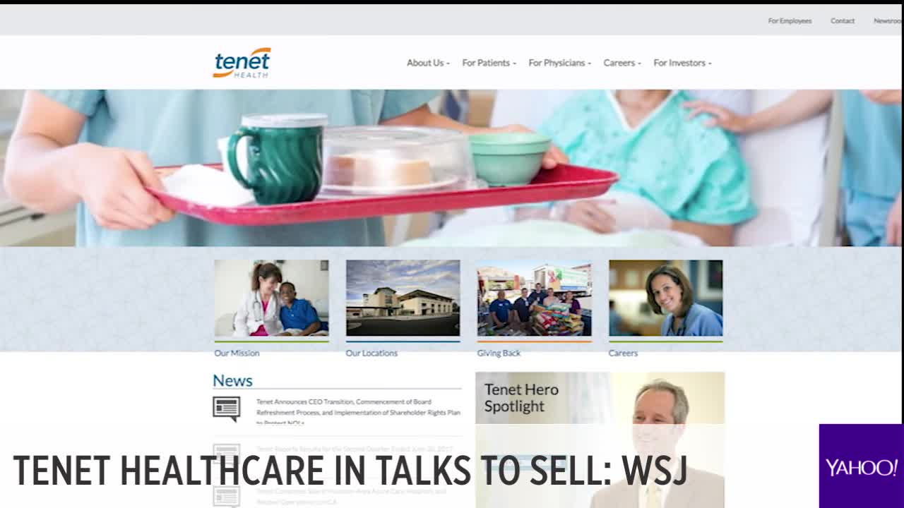 Tenet Healthcare surges, Trump nixes China-backed Lattice deal, Equifax falls farther