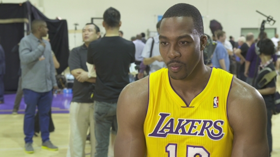 Dwight Howard to make Lakers debut