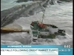 Russian freighter ran aground