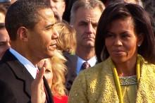 Barack Obama Sworn In as President