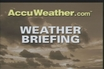 Monday's Weather Briefing