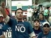 Protesters demonstrate against upcoming Venezuelan referendum