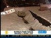 Heavy Snow & Ice Threaten To Collapse Roofs