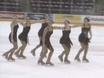 All At The Same Time On Ice! Synchronized Skating