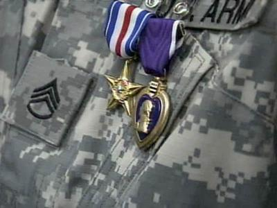 Ten soldiers honored for Afghan battle