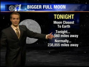Biggest Moon of the Year!
