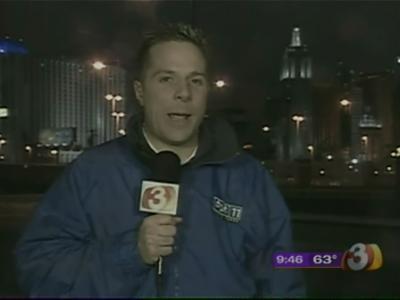 Rare snowstorm hits Vegas