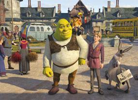 Shrek the Third in First(E! Online)
