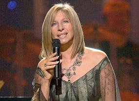 Streisand Rains on Romans' Parade(E! Online)