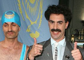 Borat's Glorious Guide to the U.S. and A.(E! Online)