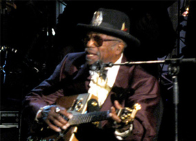 Bo Diddley Out of Hospital(E! Online)