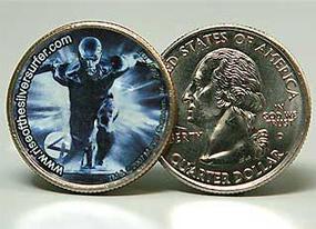 Silver Surfer Coin Not So Fantastic(E! Online)