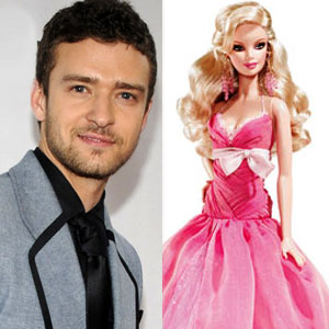Fashion Week Face-Off: Justin Timberlake vs. Barbie