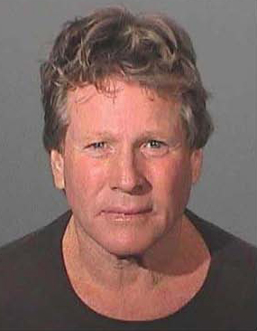 This booking photo provided by the Los Angeles County Sheriff's Department shows Oscar-nominated actor Ryan O'Neal after he was arrested for investigation of assault with a deadly weapon and negligent discharge of a firearm during a brawl with his oldest son, on Feb. 3, 2007. Prosecutors declined Friday, May 25, 2007, to charge O'Neal, 66, citing insufficient evidence. (AP Photo/Los Angeles County Sheriff's Dept. )