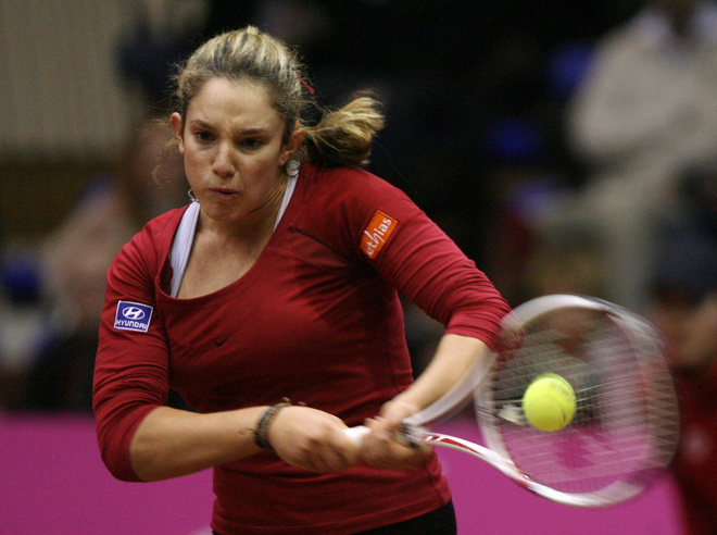 Photos of Tammy in tournament 719c02bc9b34c1e66e4d05138a5900d7-getty-tennis-ukr-bel-fedcup