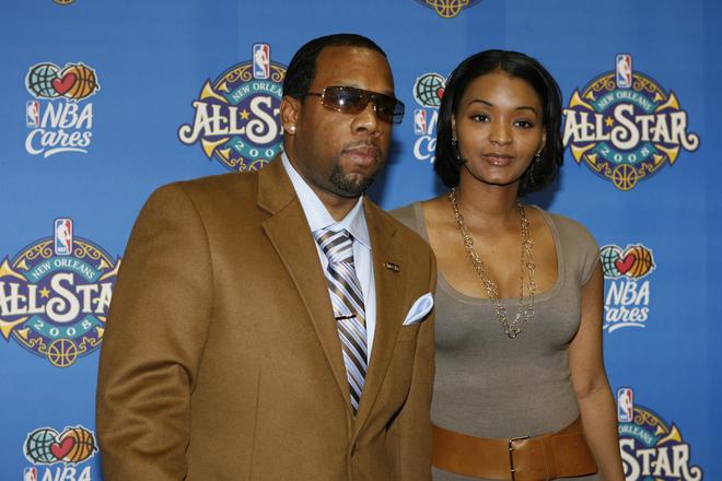 Michael Bivins and his wife Teasha Bivins