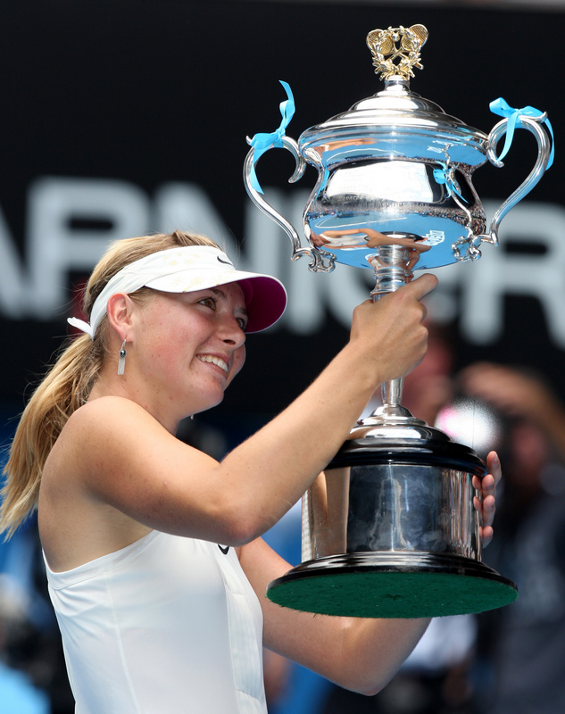 Australian Open... 95a877b14eaf6e500ecad5e079542e0a-getty-tennis-aus-open-sharapova